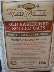 Certified Gluten Free Oats