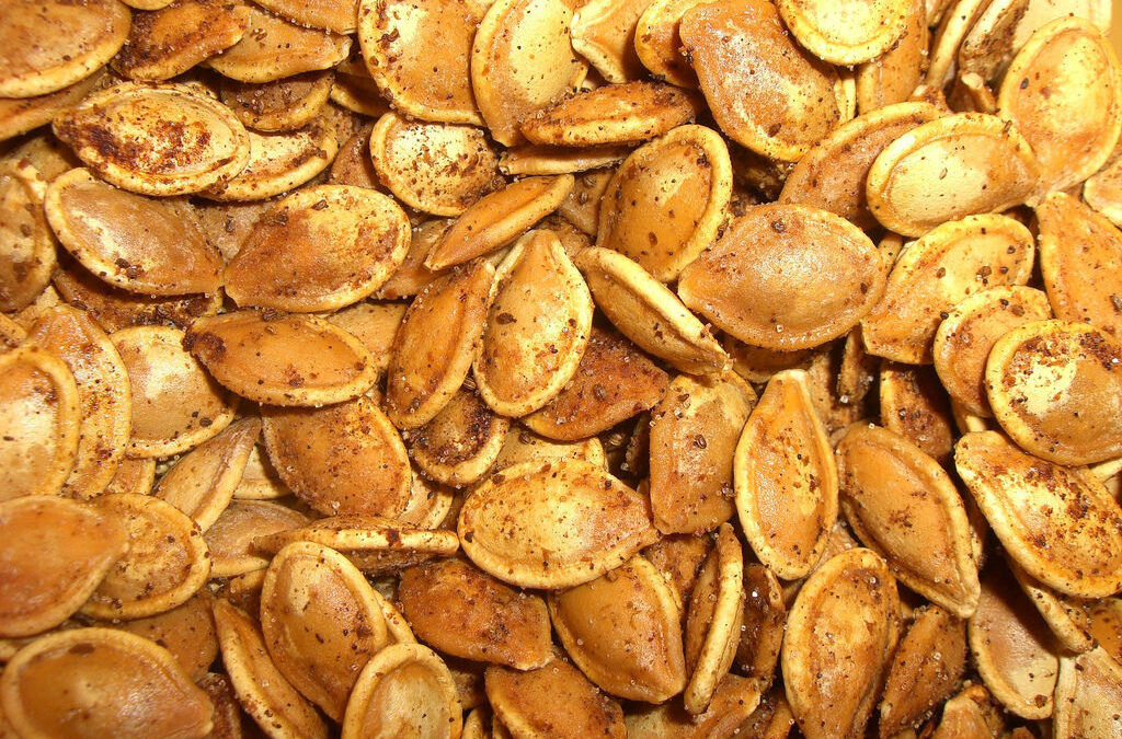 Toasted Pumpkin Seeds with Soysauce