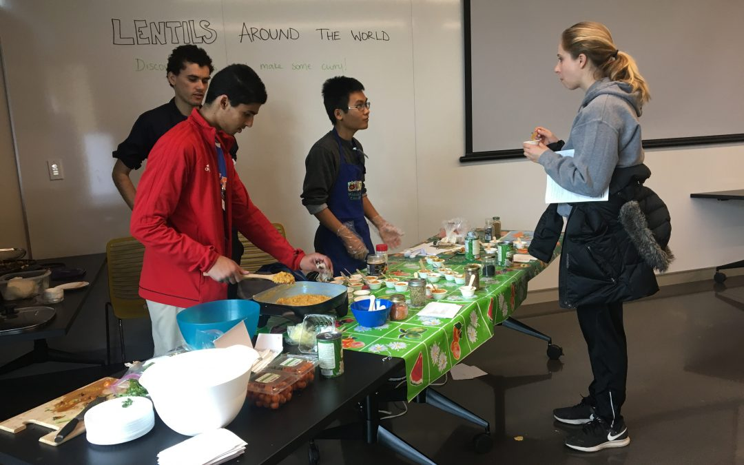 Developing a Community through Food
